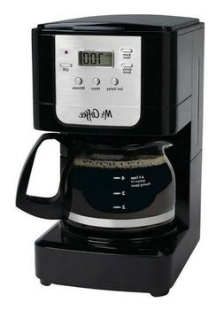 Mr. Coffee Advanced Brew JWX3-RB 5-Cup Coffee Maker - Black/