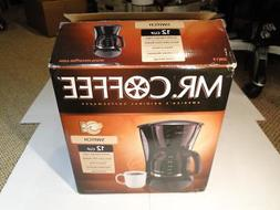 Mr. Coffee DW13 12 Cup Coffee Maker New in Box