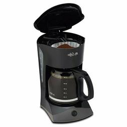 Mr. Coffee DW13-RB  Coffee Maker Plastic - Black