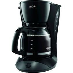 Mr. Coffee Simple Brew DW13-RB 12-Cup Coffee Maker - Black