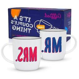 Mr and Mrs Coffee Mugs, Funny Coffee Mugs, Parents & Couples