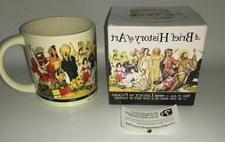 Mug Cup A Brief History of Art The Unemployed Philosophers G