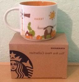Starbucks Mug Texas YAH You Are Here Coffee Mug Collection T