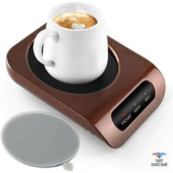 Mug Warmer Coffee Cup Heater Electric Warming Pad Desk Bever