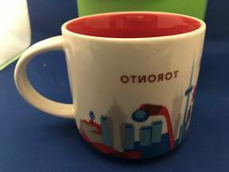 Starbucks Mug YAH Toronto Canada New Location Coffee Cup