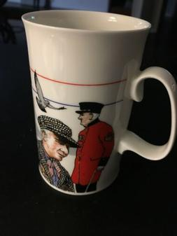 Never Used - DUNOON Fine Bone China 'London' Coffee Tea Mug