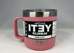 NEW! - YETI 14 oz Harbor Pink LE Stainless Coffee Camping Ha