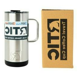 New RTIC 16oz Travel Coffee Cup Mug ~ Stainless Steel Insula