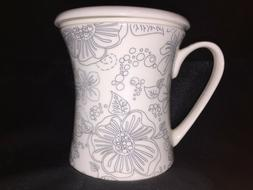 New Teavana Bone China Linea Poppy Infuser Mug 10oz