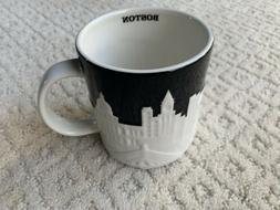 NEW Starbucks Boston Relief Collector Series Boston Skyline