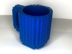 'Lego' New Build On A Brick Mug, Coffee Cup DIY Blue BPA