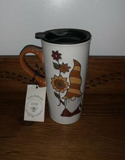 """NEW"" Heartland Hive Ceramic GNOME Fall/Thanksgiving Tal"