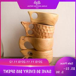 New Chinese Portable <font><b>Wood</b></font> <font><b>Coffe