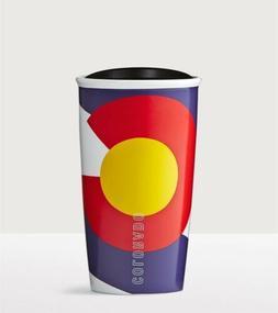 New Colorado Flag Starbucks Travel Coffee Cup Mug Tumbler -