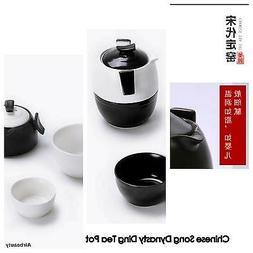 New Design Ceramic Tea Pot and Cup 4-in-1 Set * 1 x cute tea