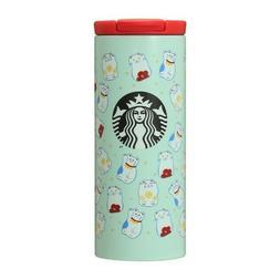 New in box Starbucks Japan Stainless Tumbler 12oz Green Luck