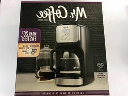 New Mr. Coffee Advanced Brew 12-Cup Programmable Coffee Make