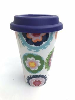 New! OUI by French Bull SUS Travel Mug Porcelain 11oz