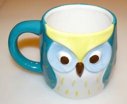 New! Owl Mug Ceramic 16oz. Capacity Dishwasher & Microwave S