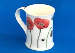 NEW Dunoon POPPY Floral Studies By Richard Partis England Fi