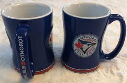 NEW Set 2 Toronto Blue Jays Boelter MLB Relief Coffee Mug 14