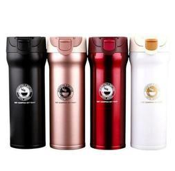 New Stainless steel vacuum flask thermos 500ML mug coffee cu