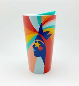 NEW Starbucks Pride Ceramic Tumbler Cup Travel Mug 12oz Rain