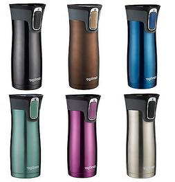 New Contigo West Loop Stainless Steel Autoseal Coffee Travel