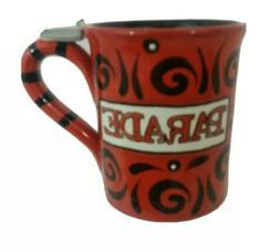 New York City Parade Red Coffee Cup Mug Novelity