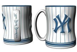 Boelter Brands New York Yankees Coffee Mug - 14oz Sculpted R