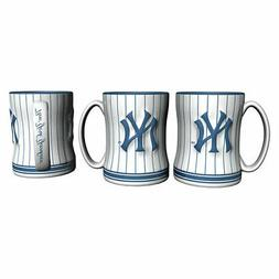 New York Yankees Boelter MLB Pinstripe Relief Coffee Mug 14o