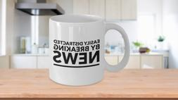 News Junkie Gift Coffee Mug Journalist Editor Reporter Him H