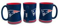 NFL New England Patriots Boxed Relief Sculpted Mug