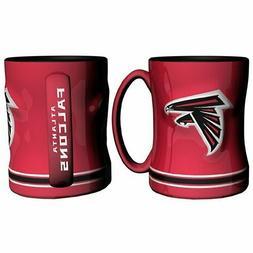 NFL Sculpted Coffee Mug, 15 Ounces, Atlanta Falcons