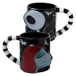 NIGHTMARE BEFORE CHRISTMAS - JACK & SALLY - COFFEE MUG SET -