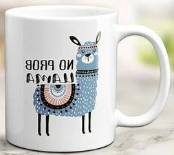 No Prob LLama Mug Funny coffee Cute coffee Birthday gift Off