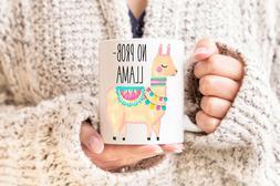 No Prob Llama Mug Llama Mug Funny Coffee Mug Funny Llama Mug