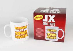 Novelty Glassware FFCM001 XL Giant Coffee Mug