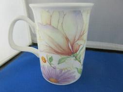 ORCHID GARDEN  free shipping FINE  BONE CHINA mug Roy Kirkha