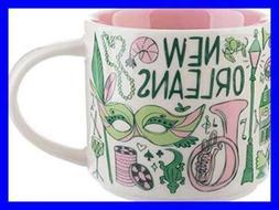 New Mug Starbucks Ceramic Coffee Orleans dxoerBC