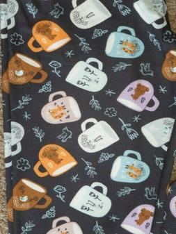 LuLaRoe OS Coffee Mugs Cups Woodland Critters Fox ~ Bear ~ F