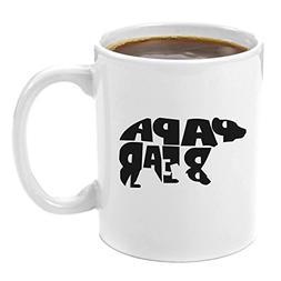 Papa Bear   Premium 11oz Coffee Mug - Perfect Birthday Gifts