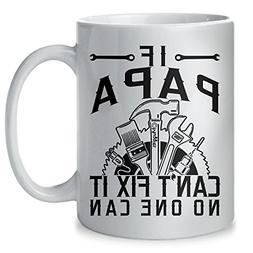 Muggies Papa Can Fix Mug - Gift For Dad And Grandpa! Coffee