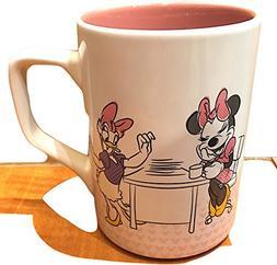 Disney Parks Minnie Mouse Daisy Duck Office Ceramic Mug Netw