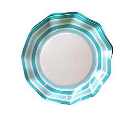 20 PCS Party Desserts/Candies/Fruits Serving Paper Plates