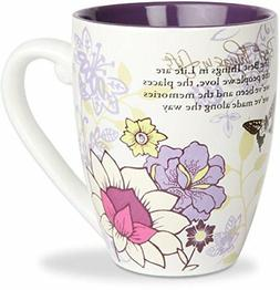 Pavilion Mark My Words The Best Things in Life Mug, 20-Ounce