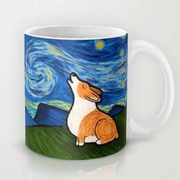 Pembroke Corgi Coffee Mug - Starry Baroo