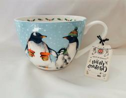 Portobello By Design PENGUINS Bone China Coffee Mug Teacup