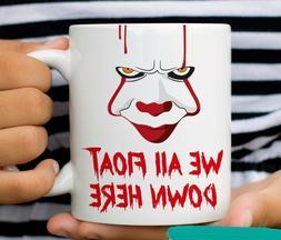 Pennywise 2017 Mug IT Movie Clown Coffee Mugs We All Float D