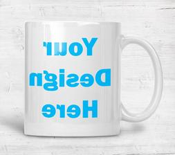 Personalized Mug White Ceramic 11oz Photo Gift Custom Coffee